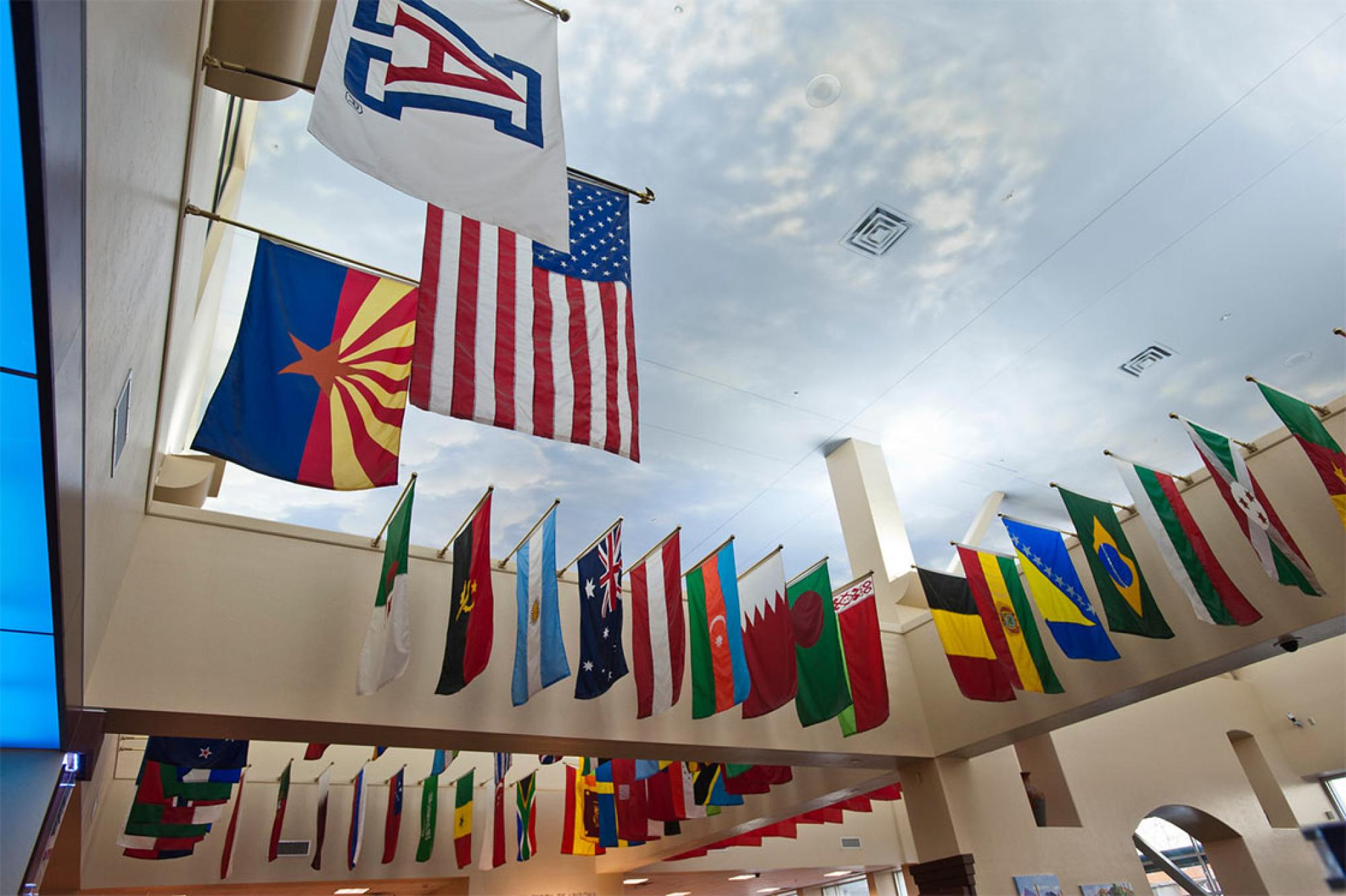 Image of flags